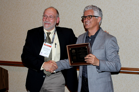 Photo of Charles R. O'Melia Distinguished Educator Award Winner